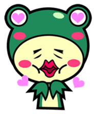 Animal Friends Duck and Frog sticker #657068