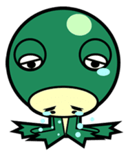 Animal Friends Duck and Frog sticker #657073