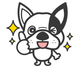 Bruno the Dog sticker #657422