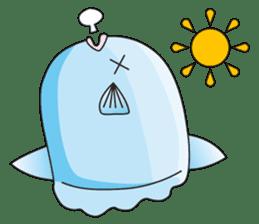 Ocean sunfish Mola sticker #657469