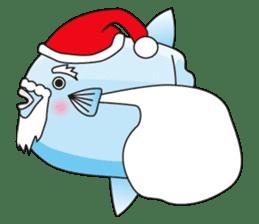 Ocean sunfish Mola sticker #657505