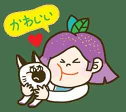 Purple star sticker #657789