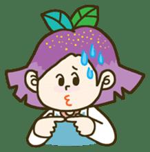Purple star sticker #657790