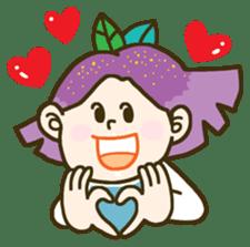 Purple star sticker #657791