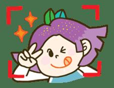 Purple star sticker #657792