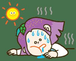 Purple star sticker #657795