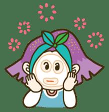 Purple star sticker #657796
