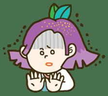 Purple star sticker #657799