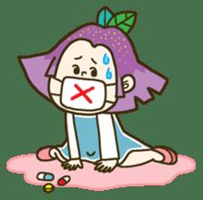 Purple star sticker #657801