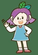 Purple star sticker #657802