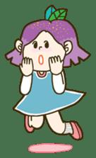 Purple star sticker #657803
