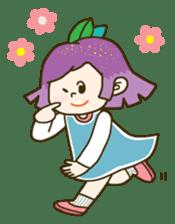 Purple star sticker #657804