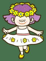 Purple star sticker #657805