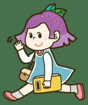 Purple star sticker #657808