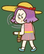 Purple star sticker #657810
