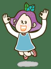 Purple star sticker #657811