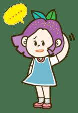 Purple star sticker #657812