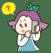 Purple star sticker #657815