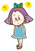 Purple star sticker #657818
