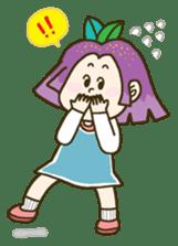 Purple star sticker #657819