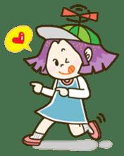 Purple star sticker #657820
