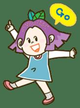 Purple star sticker #657821