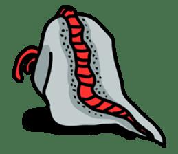 Slender oarfish LINE Stickers sticker #657988