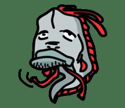 Slender oarfish LINE Stickers sticker #657993
