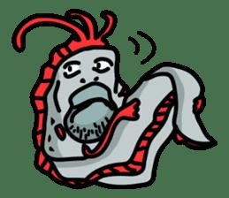 Slender oarfish LINE Stickers sticker #657994