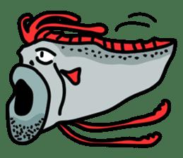 Slender oarfish LINE Stickers sticker #658025