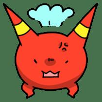 Red ogre and Blue ogre sticker #660284