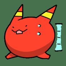 Red ogre and Blue ogre sticker #660290
