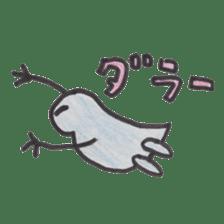 water flea sticker #660734
