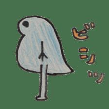 water flea sticker #660740