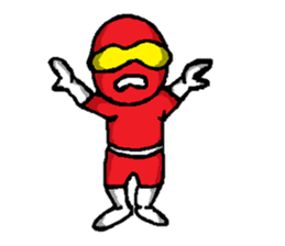 Hero's daily life sticker #661188
