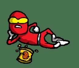 Hero's daily life sticker #661189