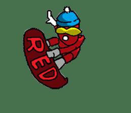 Hero's daily life sticker #661215
