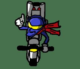 Hero's daily life sticker #661217