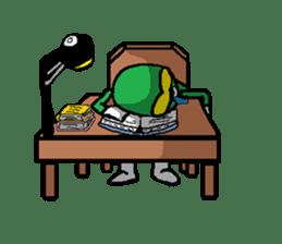 Hero's daily life sticker #661221