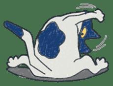 Masked cat sticker #661436