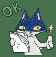Masked cat sticker #661456