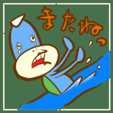 Blue Kappa sticker #662631