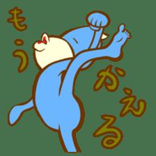 Blue Kappa sticker #662638