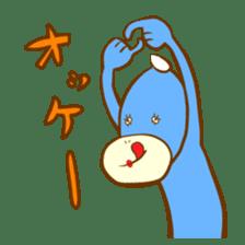 Blue Kappa sticker #662639