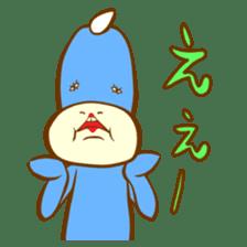 Blue Kappa sticker #662641