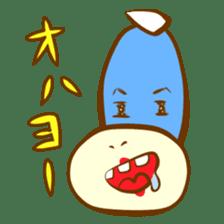 Blue Kappa sticker #662645