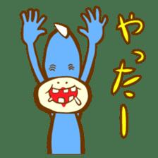Blue Kappa sticker #662647