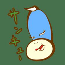Blue Kappa sticker #662648