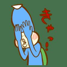 Blue Kappa sticker #662658