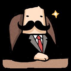 Moustache President
